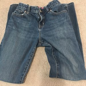 Old navy size 12 plus Girls boot cut jeans adjust
